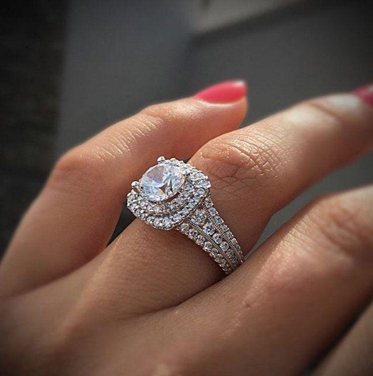 Slender Fingers Matching Ring
