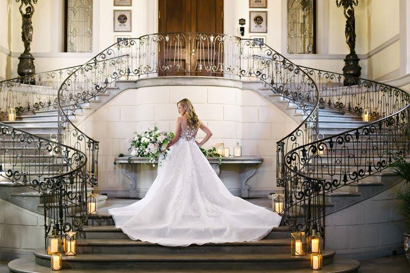 Stairwell Wedding Photoshoot