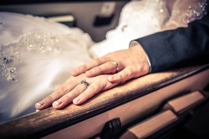 photography wedding rings photoshoot