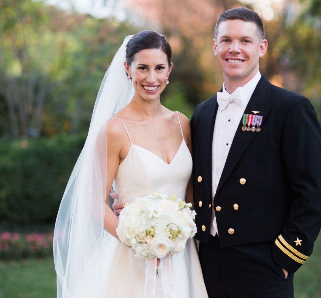 Military Dress wedding