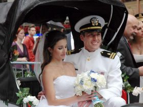 Military Seating at the Wedding Reception