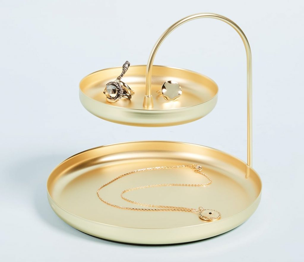 Tiered Tray For Ring