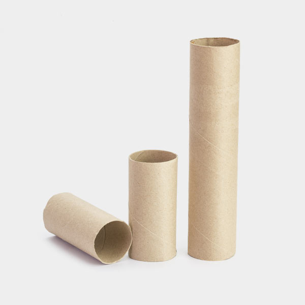 recycled paper towel roll