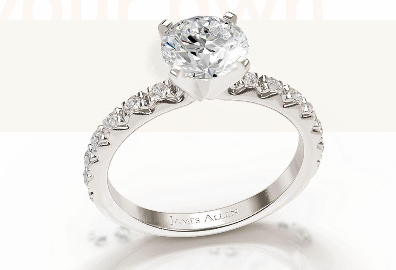 Engagement Rings from James Allen