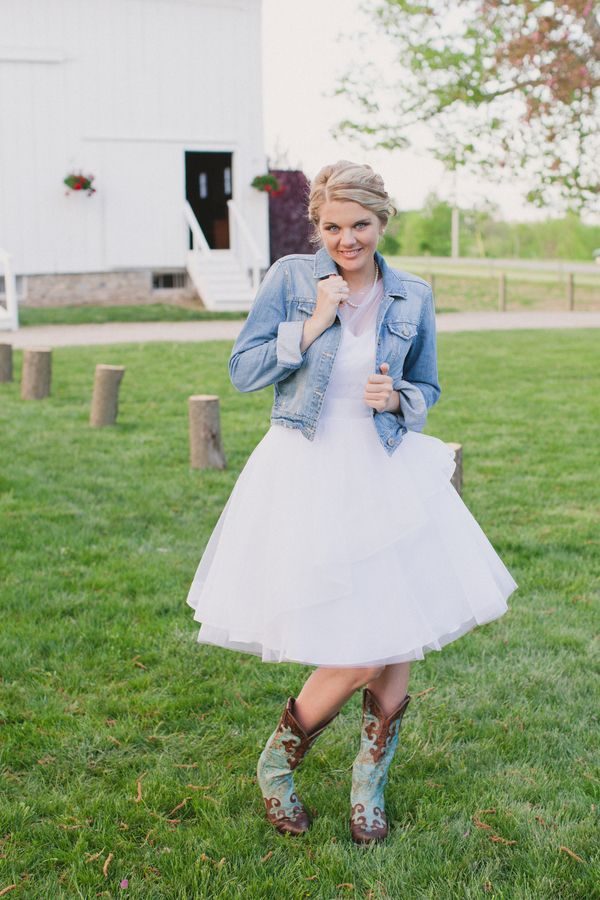 Wedding Dresses Denim