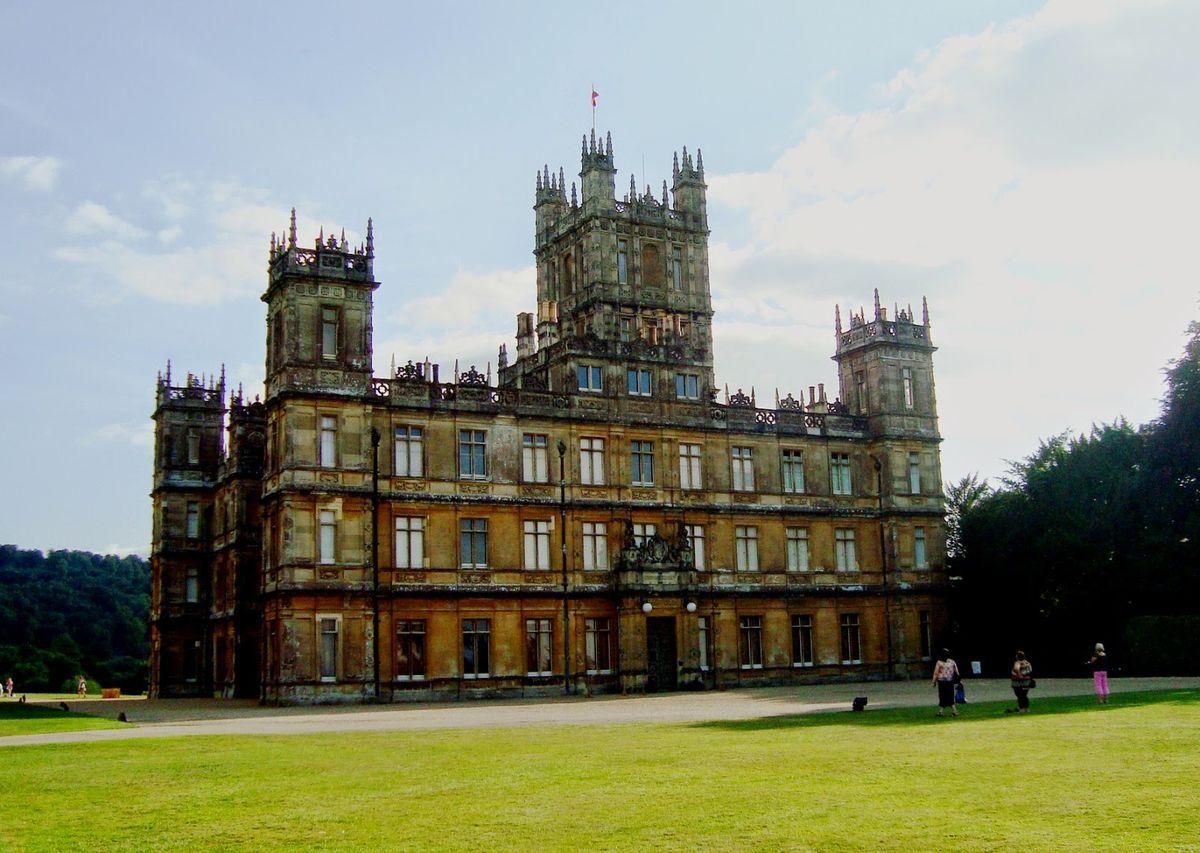 West Berkshire England Downton Abbey