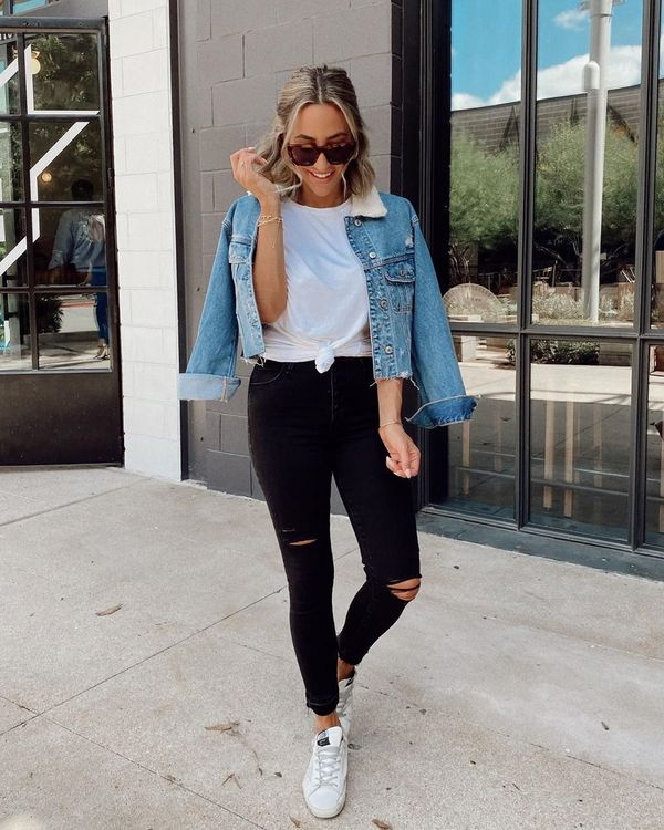 Basic Blue and Black Jeans