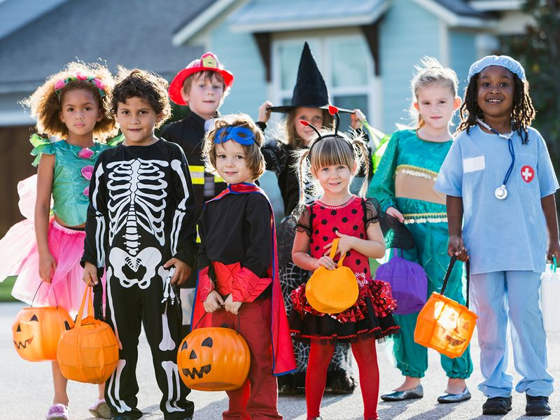 Costumes Worn During Halloween 1