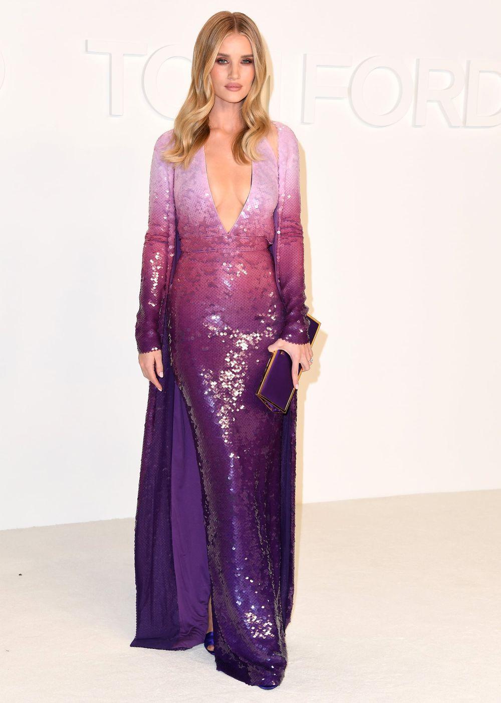 Rosie Huntington Whiteleys Fashion Promo