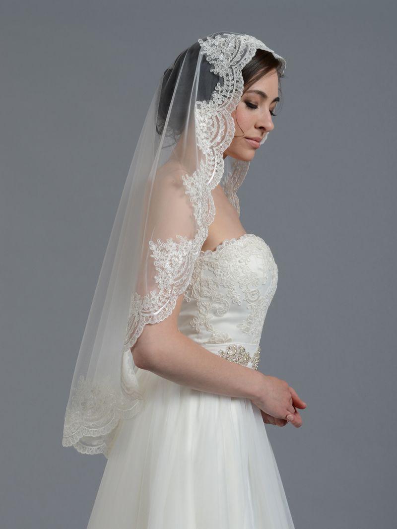 Elbow Wedding Veil