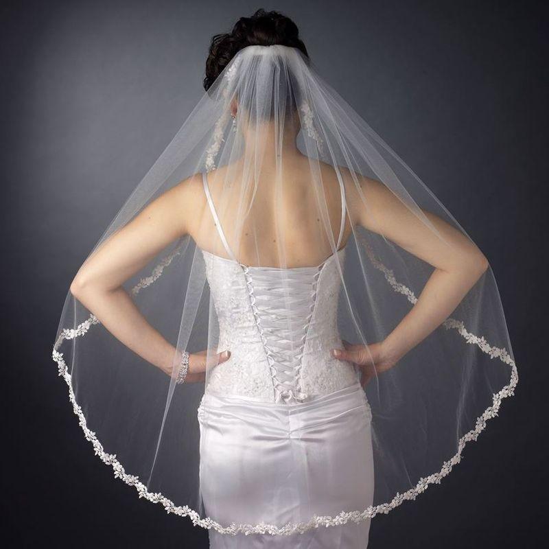 Fingertip Wedding Veil