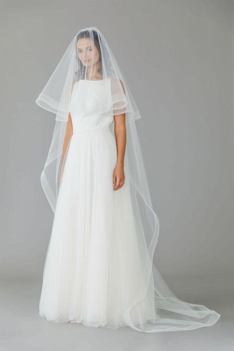 Floor Length Wedding Veil