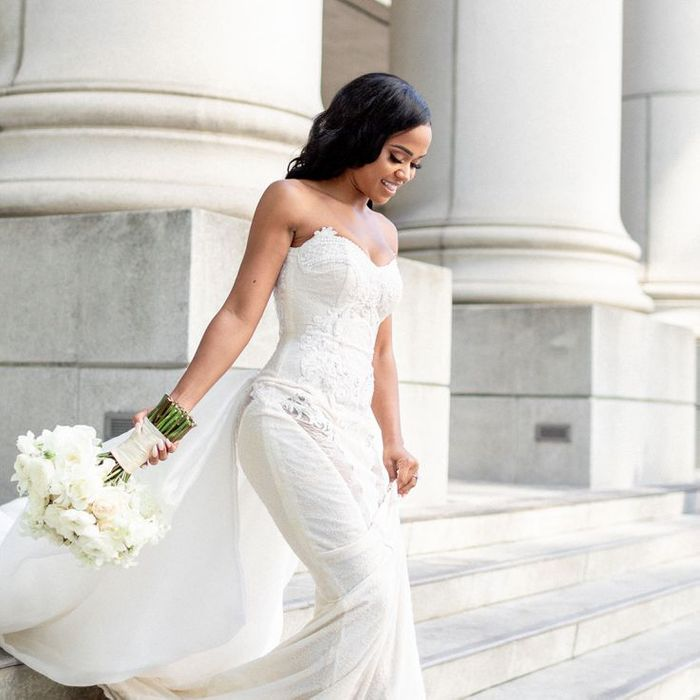 Small Chested wedding dress
