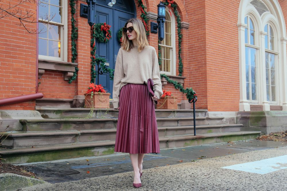 Wear It With a Midi Skirt