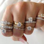 Modern Nordic Ring for wedding