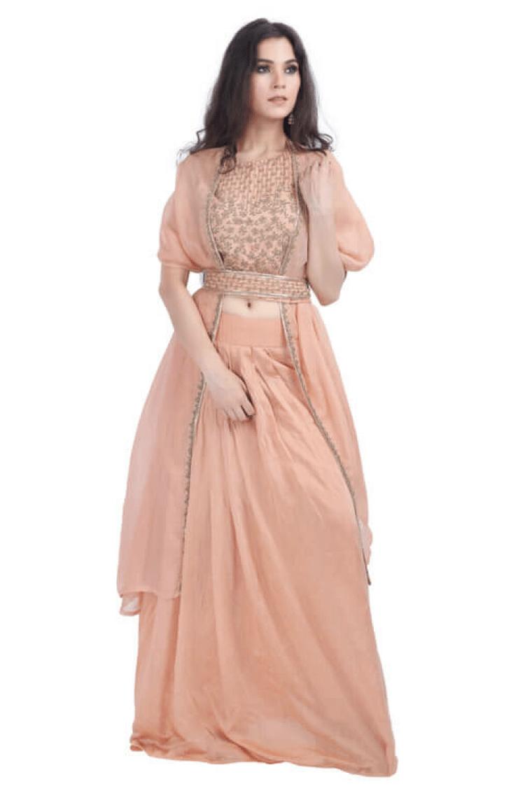woman wearing fusion wear