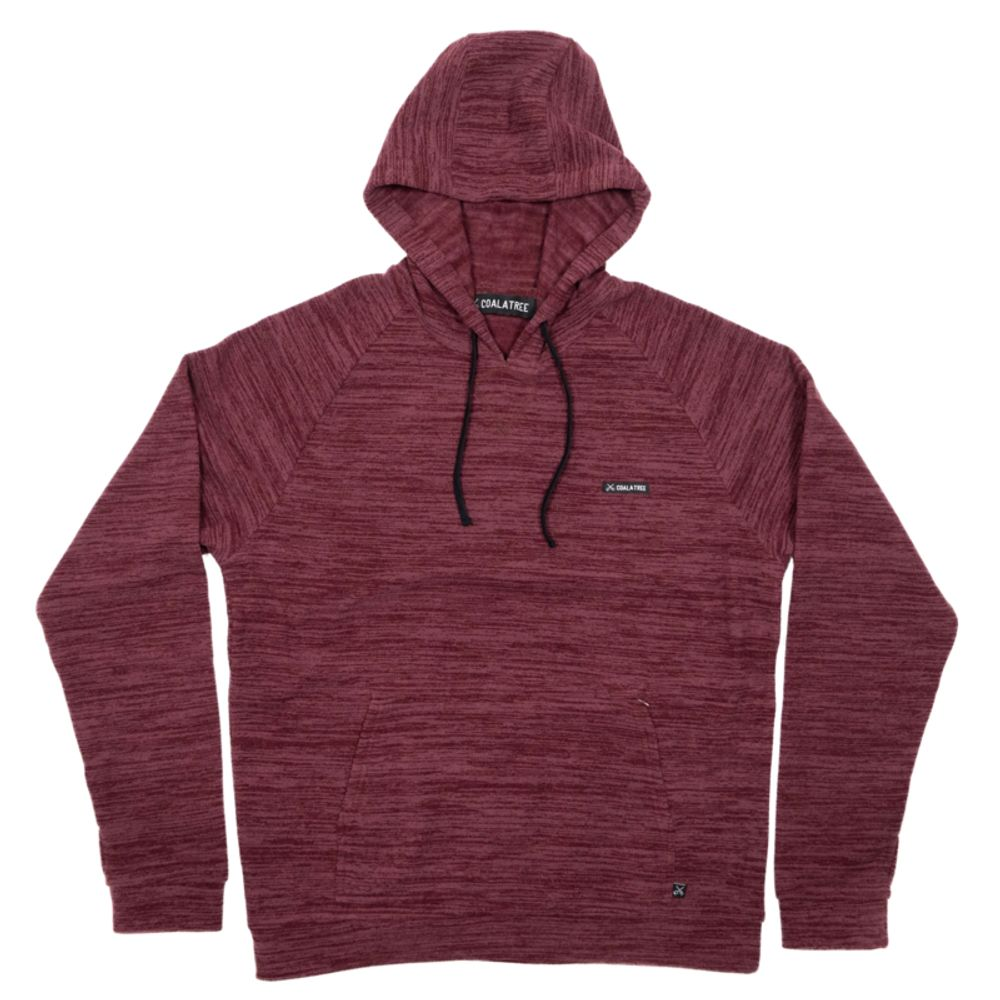 Fleece Hoodie made from coffee grounds and recycled PET
