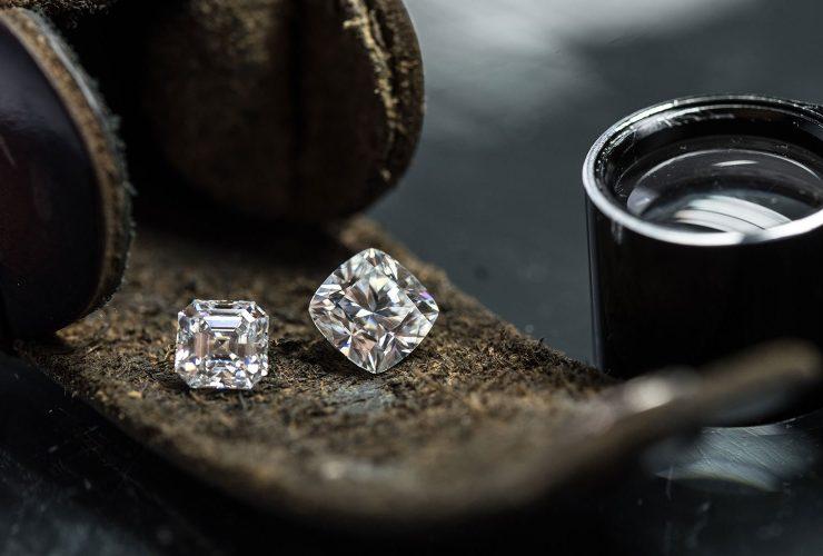 Buy Cushion Cut Diamond Jewelry Designs