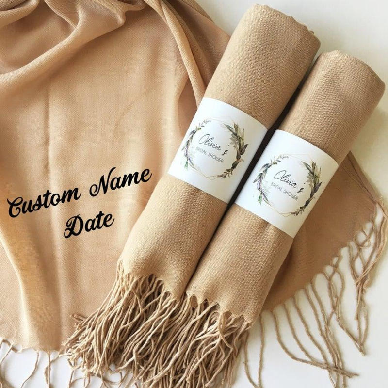 Personalized Blanket Scarf