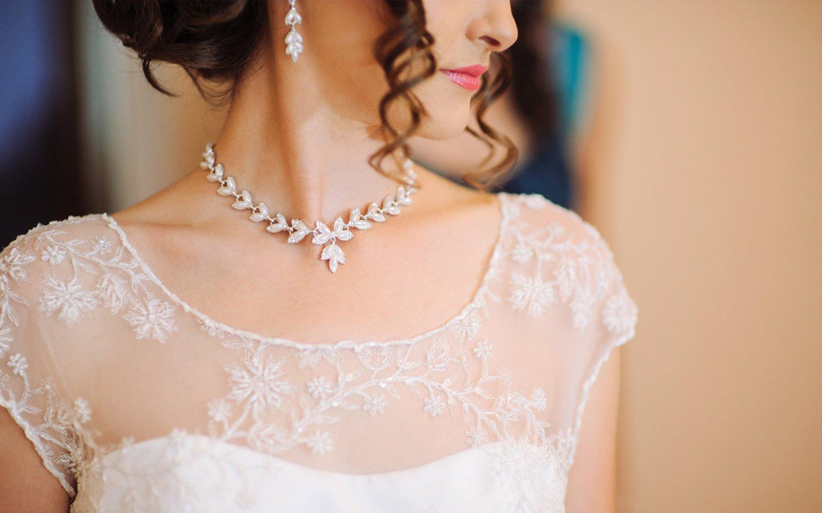 Jewelry To Match Wedding Dress